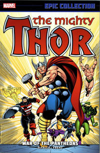 Cover Thumbnail for Thor Epic Collection (Marvel, 2013 series) #16 - War of the Pantheons