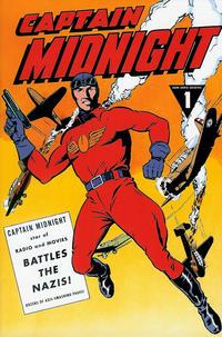 Cover Thumbnail for Captain Midnight Archives (Dark Horse, 2013 series) #1 - Captain Midnight Battles the Nazis