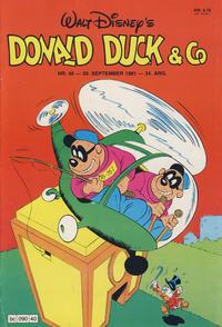 Cover Thumbnail for Donald Duck & Co (Hjemmet / Egmont, 1948 series) #40/1981