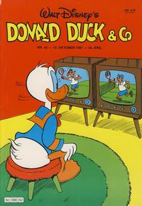 Cover Thumbnail for Donald Duck & Co (Hjemmet / Egmont, 1948 series) #42/1981