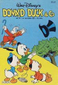 Cover Thumbnail for Donald Duck & Co (Hjemmet / Egmont, 1948 series) #44/1981