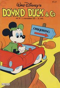 Cover Thumbnail for Donald Duck & Co (Hjemmet / Egmont, 1948 series) #45/1981