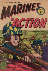 Cover Thumbnail for Marines in Action (Horwitz, 1953 series) #10