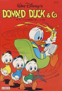 Cover Thumbnail for Donald Duck & Co (Hjemmet / Egmont, 1948 series) #46/1981