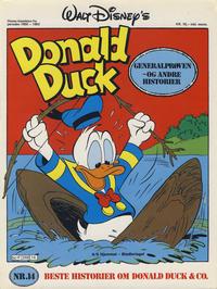 Cover Thumbnail for Walt Disney's Beste Historier om Donald Duck & Co [Disney-Album] (Hjemmet / Egmont, 1978 series) #14 - Generalprøven
