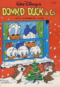 Cover Thumbnail for Donald Duck & Co (Hjemmet / Egmont, 1948 series) #48/1981