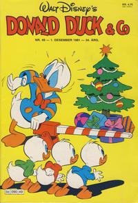 Cover Thumbnail for Donald Duck & Co (Hjemmet / Egmont, 1948 series) #49/1981
