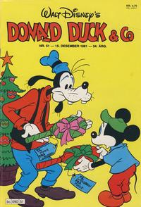 Cover Thumbnail for Donald Duck & Co (Hjemmet / Egmont, 1948 series) #51/1981
