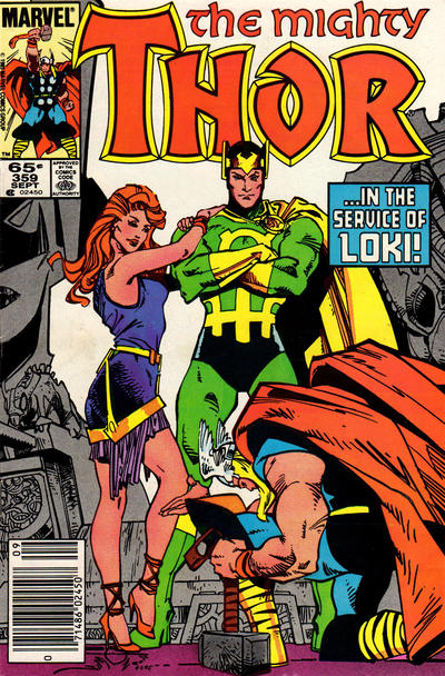 Cover for Thor (Marvel, 1966 series) #359 [Newsstand]