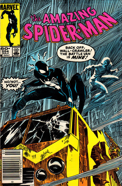 Cover for The Amazing Spider-Man (Marvel, 1963 series) #254 [Newsstand]
