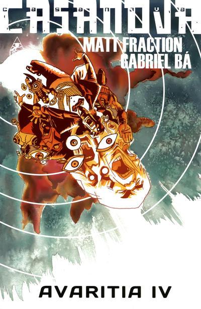 Cover for Casanova: Avaritia (Marvel, 2011 series) #4
