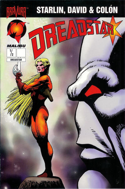 Cover for Dreadstar (Malibu, 1994 series) #1/2