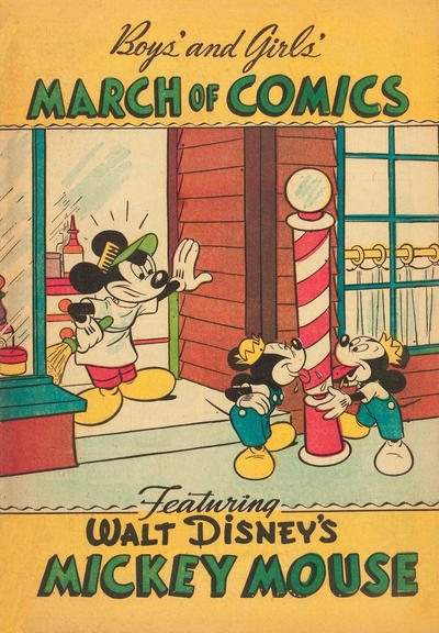 Cover for Boys' and Girls' March of Comics (Western, 1946 series) #45