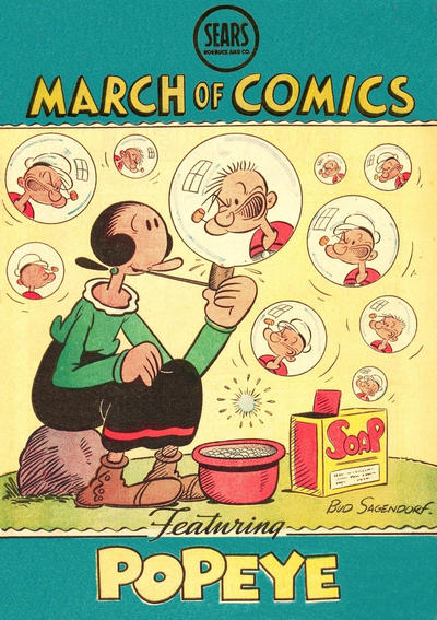Cover for March of Comics (Western, 1946 series) #37