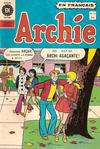 Cover for Archie (Editions Héritage, 1971 series) #11