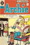 Cover for Archie (Editions Héritage, 1971 series) #16