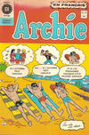 Cover for Archie (Editions Héritage, 1971 series) #20