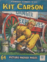 Cover Thumbnail for Cowboy Comics (Amalgamated Press, 1950 series) #152