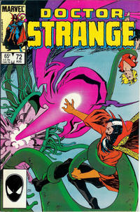 Cover Thumbnail for Doctor Strange (Marvel, 1974 series) #72 [Direct Edition]