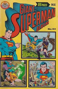 Cover Thumbnail for Giant Superman Album (K. G. Murray, 1963 ? series) #43