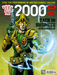 Cover Thumbnail for 2000 AD (Rebellion, 2001 series) #1766