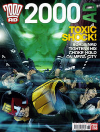Cover Thumbnail for 2000 AD (Rebellion, 2001 series) #1768