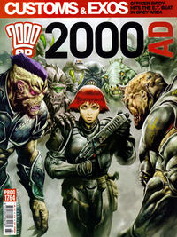 Cover Thumbnail for 2000 AD (Rebellion, 2001 series) #1764