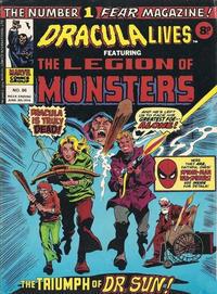 Cover Thumbnail for Dracula Lives (Marvel UK, 1974 series) #86