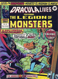 Cover Thumbnail for Dracula Lives (Marvel UK, 1974 series) #87