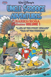 Cover Thumbnail for The Barks/Rosa Collection (Gemstone, 2007 series) #1 - Walt Disney's Uncle Scrooge Adventures