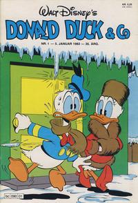 Cover Thumbnail for Donald Duck & Co (Hjemmet / Egmont, 1948 series) #1/1982