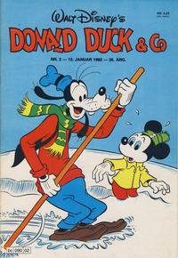 Cover Thumbnail for Donald Duck & Co (Hjemmet / Egmont, 1948 series) #2/1982