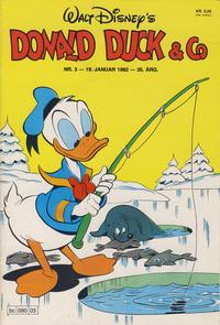 Cover Thumbnail for Donald Duck & Co (Hjemmet / Egmont, 1948 series) #3/1982