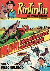 Cover Thumbnail for RinTinTin Classics (Classics/Williams, 1972 series) #1