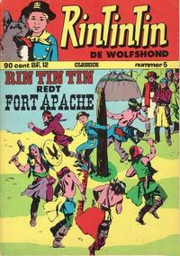 Cover Thumbnail for RinTinTin Classics (Classics/Williams, 1972 series) #5