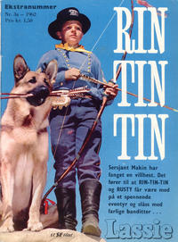 Cover Thumbnail for Lassie Ekstra Rin-Tin-Tin [Rin Tin Tin] (Serieforlaget / Se-Bladene / Stabenfeldt, 1959 series) #3a/1962