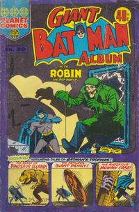 Cover Thumbnail for Giant Batman Album (K. G. Murray, 1962 series) #30