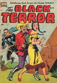 Cover Thumbnail for Black Terror Comics (Better Publications of Canada, 1948 series) #27