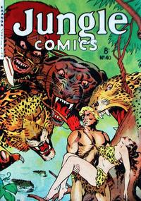 Cover Thumbnail for Jungle Comics (H. John Edwards, 1950 ? series) #40