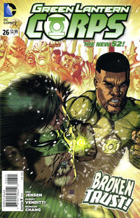 Cover Thumbnail for Green Lantern Corps (DC, 2011 series) #26 [Direct Sales]