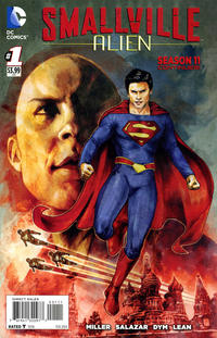Cover Thumbnail for Smallville: Alien (DC, 2014 series) #1