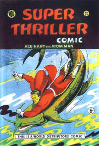 Cover Thumbnail for Super Thriller Comic (World Distributors, 1947 series) #24