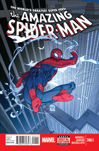 Cover Thumbnail for The Amazing Spider-Man (Marvel, 1999 series) #700.1