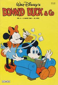 Cover Thumbnail for Donald Duck & Co (Hjemmet / Egmont, 1948 series) #9/1982