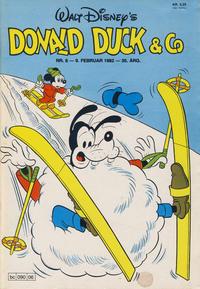 Cover Thumbnail for Donald Duck & Co (Hjemmet / Egmont, 1948 series) #6/1982