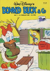 Cover Thumbnail for Donald Duck & Co (Hjemmet / Egmont, 1948 series) #7/1982