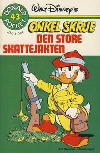 Cover Thumbnail for Donald Pocket (Hjemmet / Egmont, 1968 series) #43 - Onkel Skrue Den store skattejakten