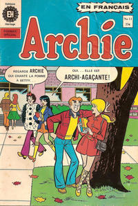 Cover Thumbnail for Archie (Editions Héritage, 1971 series) #11