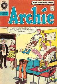 Cover Thumbnail for Archie (Editions Héritage, 1971 series) #16