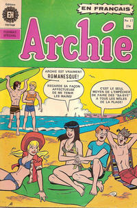 Cover Thumbnail for Archie (Editions Héritage, 1971 series) #17